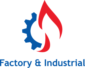 Factory & Industrial Logo Vector