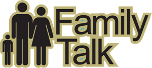 Family Talk Radio Logo Vector