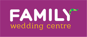 Family Wedding Centre Logo Vector