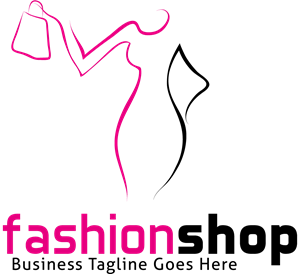 Fashion shop Logo Vector