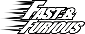 Fast and Furious Energy Drink Logo Vector