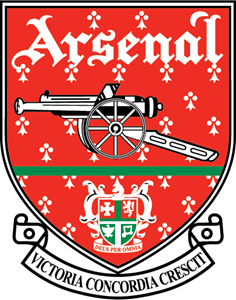 FC Arsenal London 1990's Logo Vector