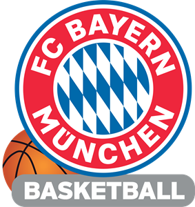 FC Bayern Munich Basketball Logo Vector