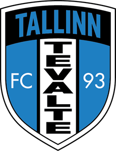 FC Tevalte Tallinn (early 90's) Logo Vector