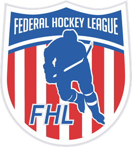 Federal Hockey League Logo Vector