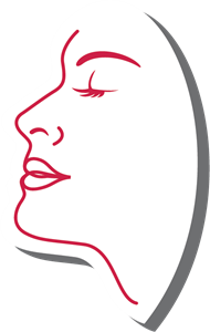 Female Face Design Logo Vector