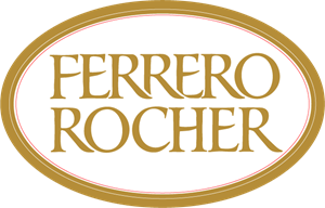 Ferrero Rocher Food Logo Vector