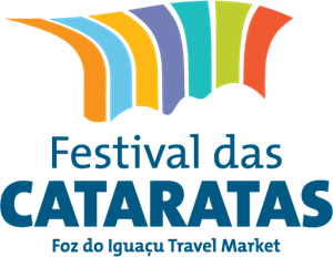 Festival das Cataratas Foz do Iguacu Travel Market Logo Vector