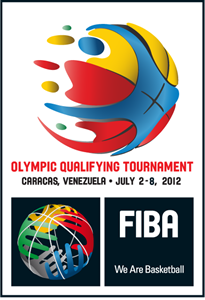 FIBA Olympic Tournament Qualifying Venezuela 2012 Logo Vector