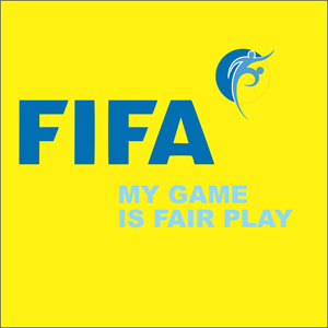 FIFA - MY GAME IS FAIR PLAY Logo Vector