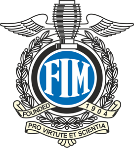 FIM - Fédération internationale de motocyclisme Logo Vector