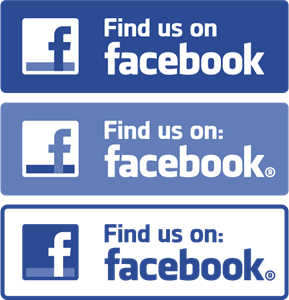 Find us on Facebook Logo Vector