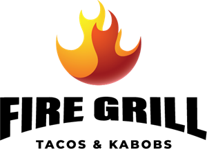 Fire Grill Logo Vector