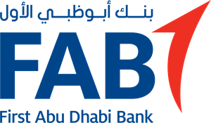 First Abu Dhabi Bank (FAB) Logo Vector