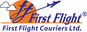 First Flight Couriers Ltd Logo Vector