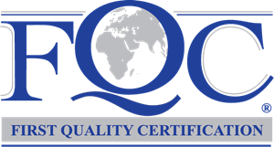 First Quality Certification Logo Vector