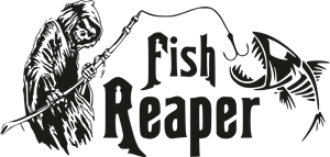 Fish Reaper Logo Vector