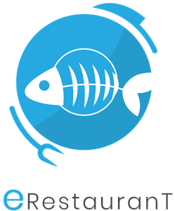 Fish Restaurant Logo Vector