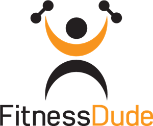 Fitness Dude Abstract Logo Vector