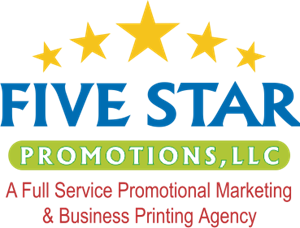 Five Star Promotions, LLC Logo Vector