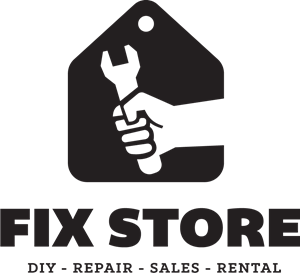 Fix store Logo Vector