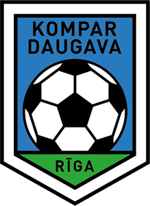 FK Kompar-Daugava Riga (early 90's) Logo Vector