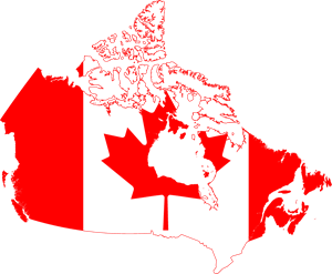 Map Of Canada Eps.Flag Map Of Canada Logo Vector Eps Free Download