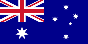 Flag of Australia Logo Vector