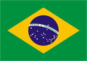 Flag of Brazil Logo Vector