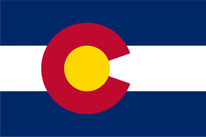 FLAG OF COLORADO Logo Vector