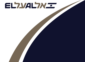 Flag of EL AL Logo Vector