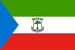 Flag of Equatorial Guinea Logo Vector