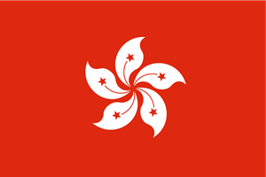 Flag of Hong Kong Logo Vector