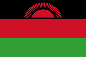Flag of Malawi Logo Vector