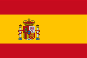 Flag of Spain Logo Vector