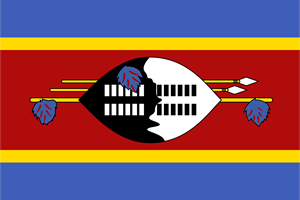 Flag of Swaziland Logo Vector