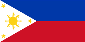 Flag of the Philippines Logo Vector