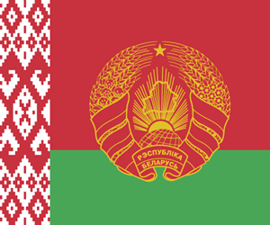 Flag of the President of Belarus Logo Vector