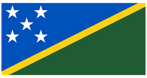Flag of the Solomon Islands Logo Vector