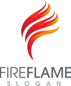 Flame Fire Logo Vector