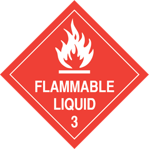 Flammable Liquid Logo Vector