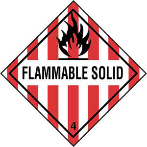 FLAMMABLE SOLID Logo Vector