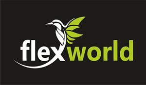 Flex World Logo Vector