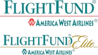 FlightFund Elite Amerika West Airlines Logo Vector