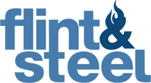Flint & Steel Logo Vector