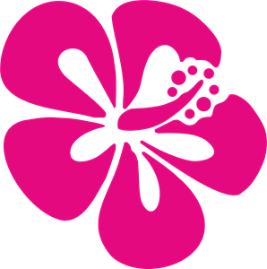 Flor do surf Logo Vector