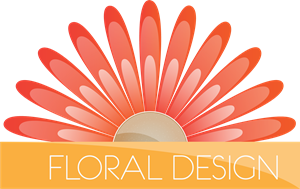 floral design Logo Vector