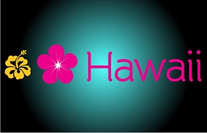 Florish Hawaii Logo Vector