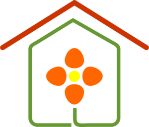Flower Building Logo Vector