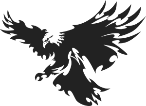 Flying Eagle Logo Vector